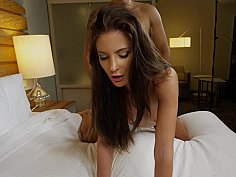 Adorable mistress utilizing her time well